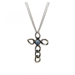 EMATITE-BIG-CHAIN-CROSS-NECKLACE