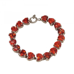 RED-HEART-STUDDED-BRACELET