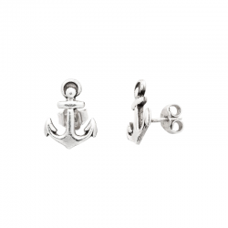 ANCHOR-EARRINGS