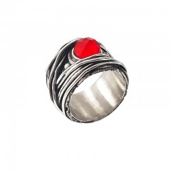 WIRE-RED-STONE-RING-1