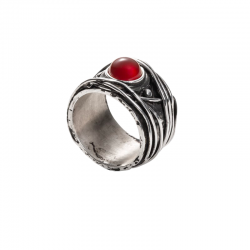 WIRE-RED-STONE-RING-2