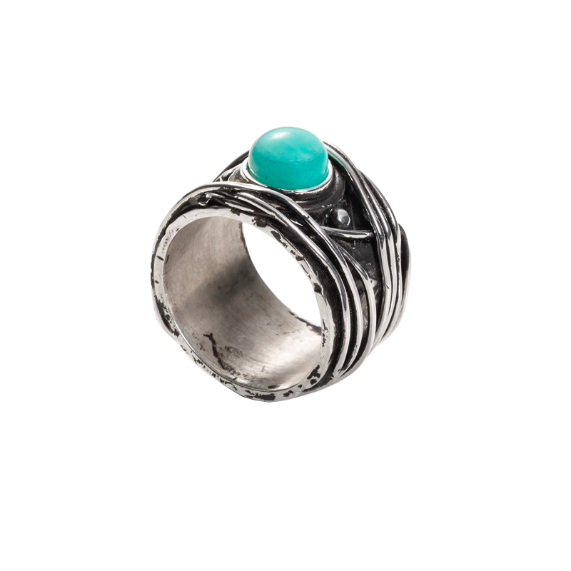 WIRE-AMAZZONITE-STONE-RING-1