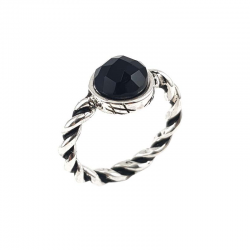 MESH-WITH-STONE-RING