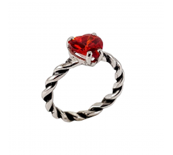 MESH-WITH-HEART-RING