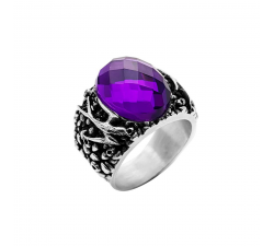 SWALLOWS-VIOLET-STONE-RING