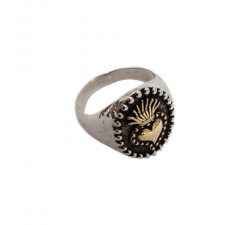 YELLOW GOLD EX VOTO RING